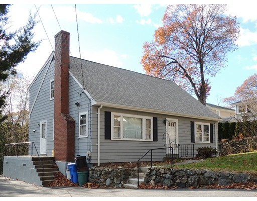 Single Family Home for Sale at 54 Gregory Street Waltham, Massachusetts 02451 United States