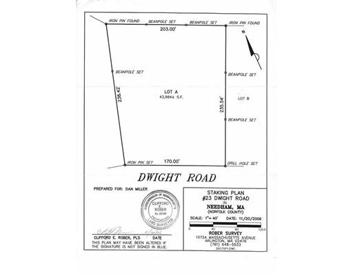 23 Dwight Road, Needham, MA, 02492