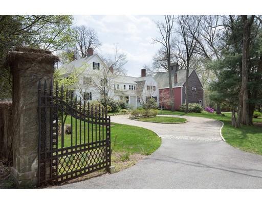 Single Family Home for Sale at 334 Boston Post Road 334 Boston Post Road Weston, Massachusetts 02493 United States