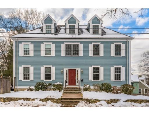 Single Family Home for Sale at 204 Brookline Street 204 Brookline Street Needham, Massachusetts 02492 United States