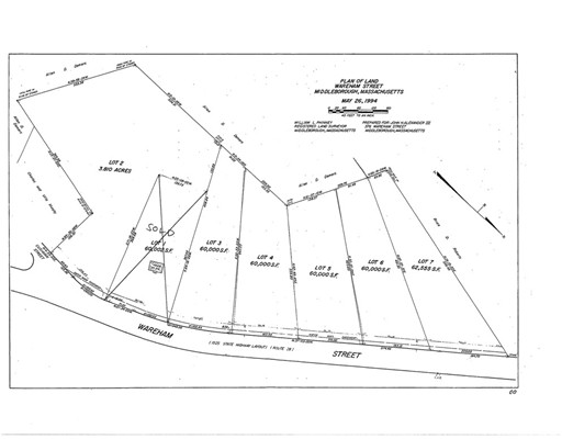 Land for Sale at 384 Wareham Street Middleboro, 02346 United States