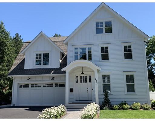 獨棟家庭住宅 為 出售 在 184 Lindbergh Avenue 184 Lindbergh Avenue Needham, 麻塞諸塞州 02494 美國