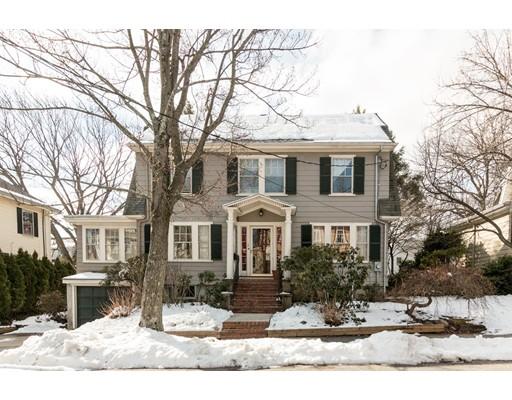 Maison unifamiliale pour l Vente à 49 Pequossette Road 49 Pequossette Road Belmont, Massachusetts 02478 États-Unis