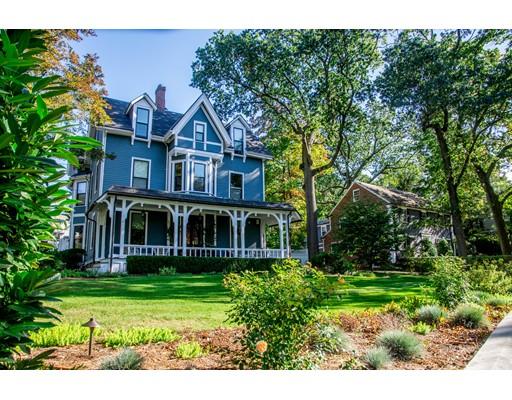 Μονοκατοικία για την Πώληση στο 172 Park Street 172 Park Street Newton, Μασαχουσετη 02458 Ηνωμενεσ Πολιτειεσ