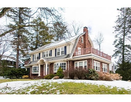 Частный односемейный дом для того Продажа на 266 Common Street 266 Common Street Belmont, Массачусетс 02478 Соединенные Штаты