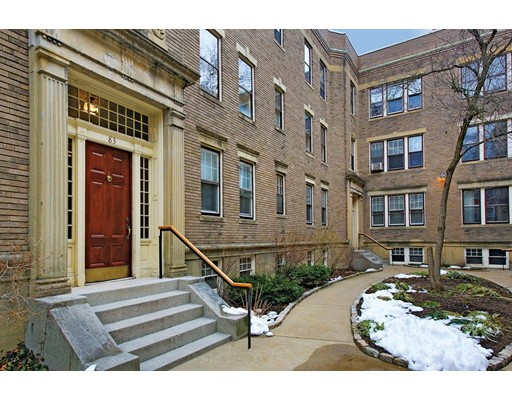 Condominium for Sale at 83 Harvard Avenue 83 Harvard Avenue Brookline, Massachusetts 02446 United States