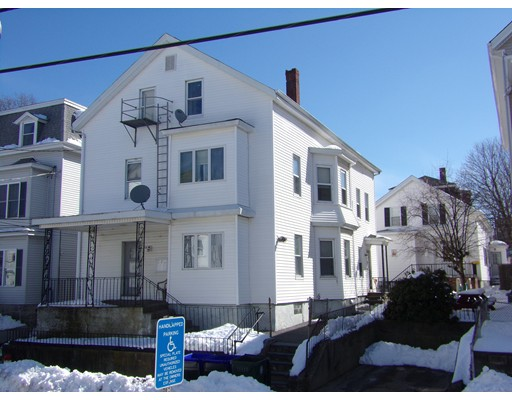 Single Family Home for Sale at 58 Forest Street Fall River, Massachusetts 02721 United States
