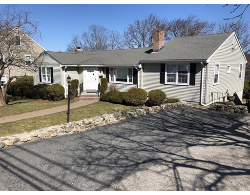 Single Family Home for Sale at 145 Brewster Road 145 Brewster Road Waltham, Massachusetts 02451 United States