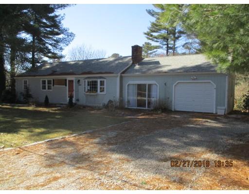 Maison unifamiliale pour l Vente à 445 Nye Road 445 Nye Road Barnstable, Massachusetts 02630 États-Unis