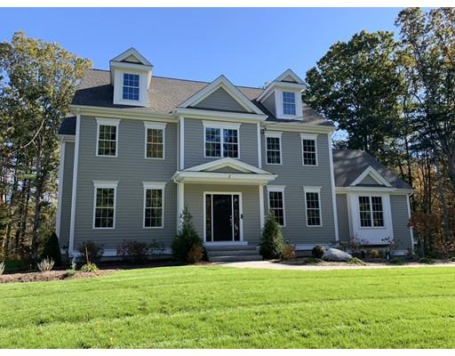 Maison unifamiliale pour l Vente à 11 Penny Meadow Lane Lot 4 11 Penny Meadow Lane Lot 4 Hopkinton, Massachusetts 01748 États-Unis