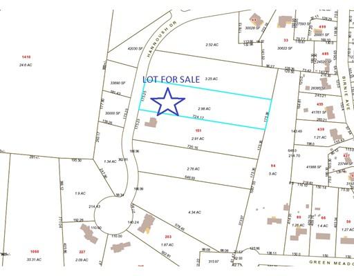 Terrain pour l Vente à 101 Hannoush Drive 101 Hannoush Drive West Springfield, Massachusetts 01089 États-Unis