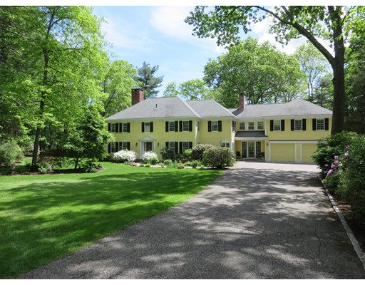 Single Family Home for Sale at 38 Round Hill Road 38 Round Hill Road Lincoln, Massachusetts 01773 United States