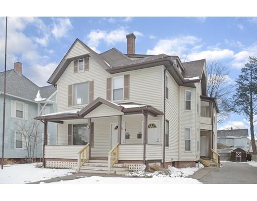 多户住宅 为 销售 在 126 Pearl Street 126 Pearl Street Holyoke, 马萨诸塞州 01040 美国