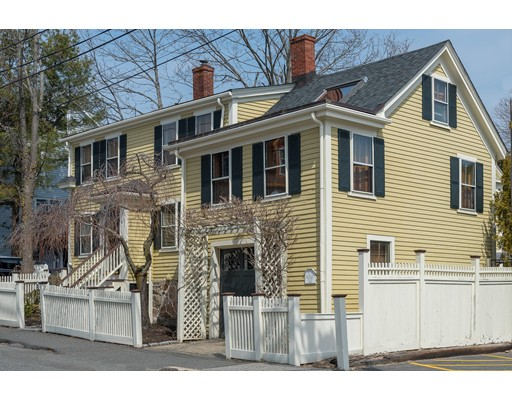 Single Family Home for Sale at 4 Commercial Street 4 Commercial Street Marblehead, Massachusetts 01945 United States