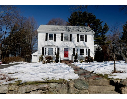 Picture 1 of 311 Walnut St  Dedham Ma  3 Bedroom Single Family#