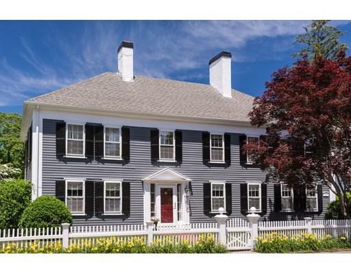 واحد منزل الأسرة للـ Sale في 30 Summer Street 30 Summer Street Cohasset, Massachusetts 02025 United States