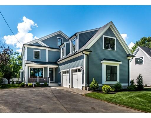 Частный односемейный дом для того Продажа на 186 LYMAN STREET 186 LYMAN STREET Waltham, Массачусетс 02451 Соединенные Штаты