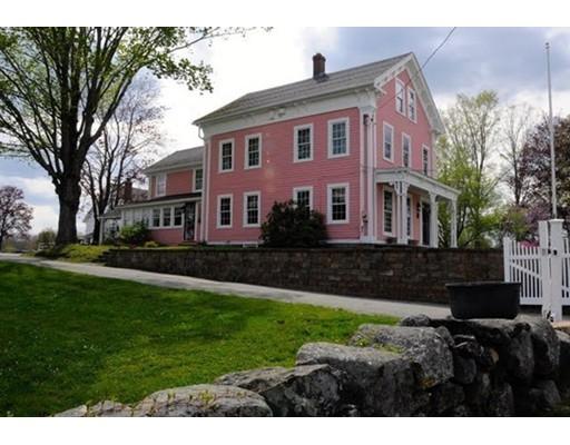 Maison unifamiliale pour l Vente à 31 West Main Street 31 West Main Street Brookfield, Massachusetts 01506 États-Unis