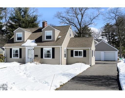 Частный односемейный дом для того Продажа на 17 Beverly Road 17 Beverly Road Natick, Массачусетс 01760 Соединенные Штаты