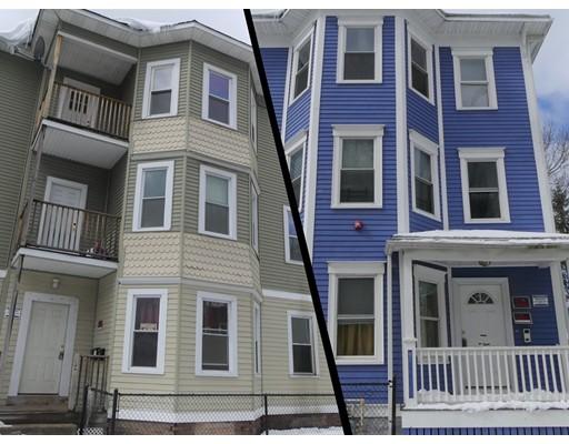 Casa Multifamiliar por un Venta en 151 Belmont St/Eastern Avenue 151 Belmont St/Eastern Avenue Worcester, Massachusetts 01605 Estados Unidos