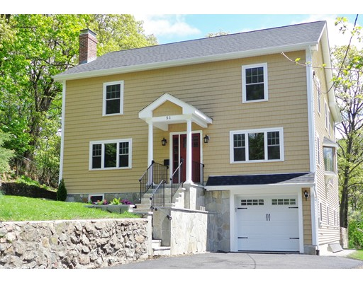 Single Family Home for Sale at 51 Crosby Street 51 Crosby Street Arlington, Massachusetts 02474 United States