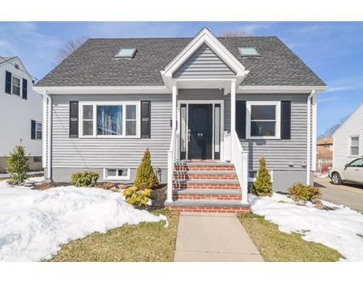 Maison unifamiliale pour l Vente à 33 Nyack Street 33 Nyack Street Watertown, Massachusetts 02472 États-Unis