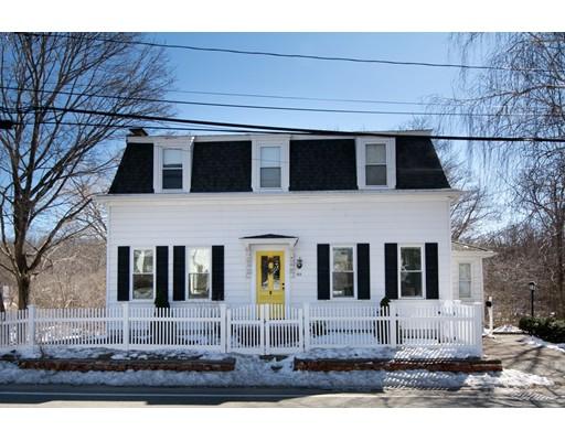 واحد منزل الأسرة للـ Sale في 155 Hull Street 155 Hull Street Cohasset, Massachusetts 02025 United States
