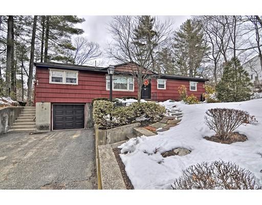 Частный односемейный дом для того Продажа на 43 Jennings Pond Road 43 Jennings Pond Road Natick, Массачусетс 01760 Соединенные Штаты