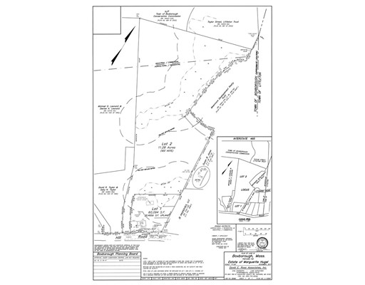 Land for Sale at 1178 Hill Road 1178 Hill Road Boxborough, Massachusetts 01719 United States