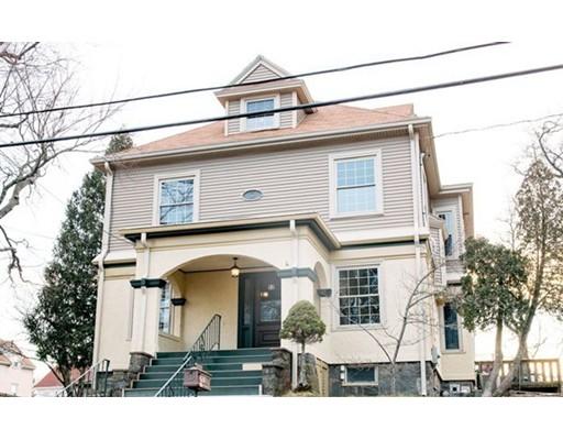 واحد منزل الأسرة للـ Sale في 52 Rogers Street 52 Rogers Street Quincy, Massachusetts 02169 United States