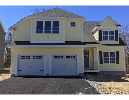 Single Family Home for Sale at 43 Jordan Road 43 Jordan Road Holden, Massachusetts 01520 United States