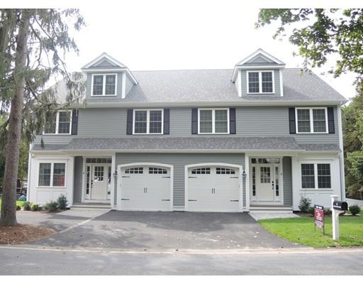 Casa Unifamiliar por un Alquiler en 8 Charles River Street 8 Charles River Street Needham, Massachusetts 02492 Estados Unidos