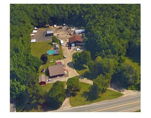 Частный односемейный дом для того Продажа на 1570 Main Street 1570 Main Street Leicester, Массачусетс 01524 Соединенные Штаты