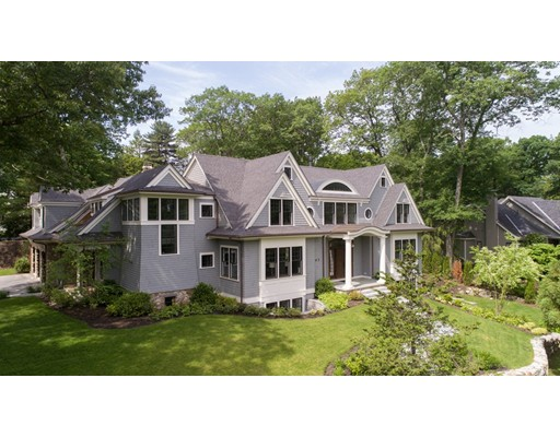 Casa Unifamiliar por un Venta en 65 White Oak Road 65 White Oak Road Wellesley, Massachusetts 02481 Estados Unidos