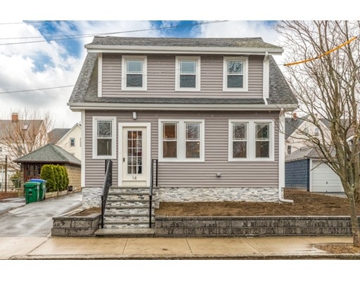 Picture 1 of 14 Spencer Rd  Medford Ma  3 Bedroom Single Family