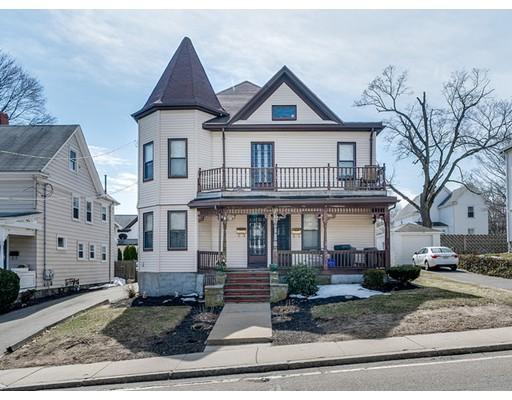 Многосемейный дом для того Продажа на 245 Whitwell Street 245 Whitwell Street Quincy, Массачусетс 02169 Соединенные Штаты