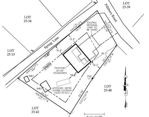 土地,用地 为 销售 在 42 Pillsbury Road 42 Pillsbury Road Sandown, 新罕布什尔州 03873 美国