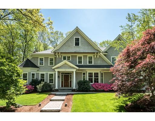 Maison unifamiliale pour l Vente à 37 Fairbanks Road 37 Fairbanks Road Lexington, Massachusetts 02421 États-Unis