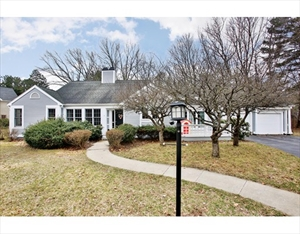 7 Griffin Circle  is a similar property to 40 Woodridge Rd  Wayland Ma