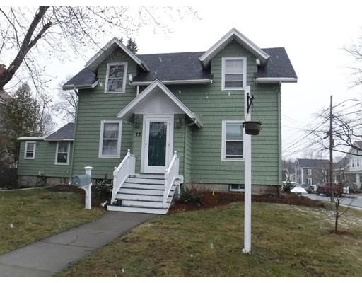 Maison avec plusieurs logements pour l Vente à 73 Essex Street 73 Essex Street Melrose, Massachusetts 02176 États-Unis
