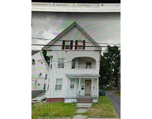 独户住宅 为 出租 在 242 GREEN Street 242 GREEN Street 布罗克顿, 马萨诸塞州 02301 美国
