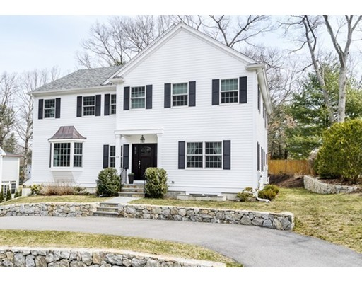 Picture 1 of 53 Halsey Ave  Wellesley Ma  4 Bedroom Single Family#