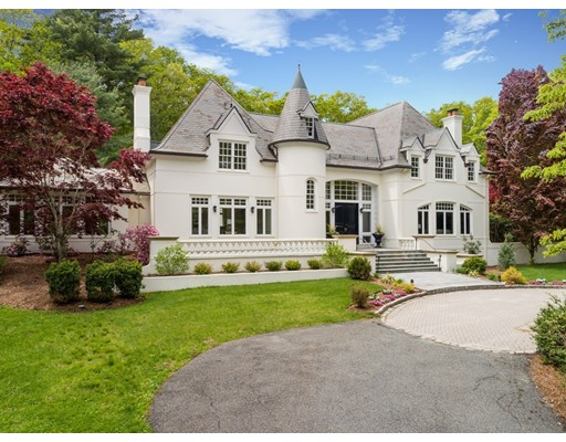 Casa Unifamiliar por un Venta en 190 Pond Road 190 Pond Road Wellesley, Massachusetts 02482 Estados Unidos