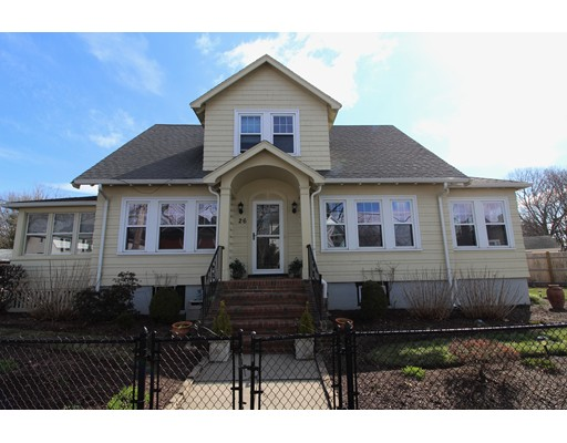 Picture 1 of 26 Commonwealth Ave  Dedham Ma  4 Bedroom Single Family#
