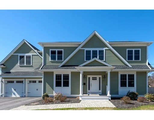 Picture 1 of 811 East St  Dedham Ma  4 Bedroom Single Family#