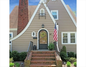 61 Williams St  is a similar property to 129 Edwin St  Quincy Ma