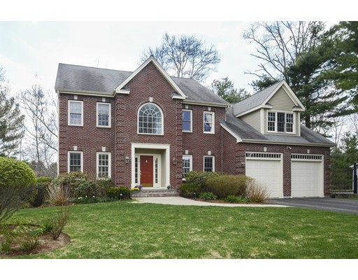 Picture 1 of 19 Harvest Moon Dr  Natick Ma  4 Bedroom Single Family#
