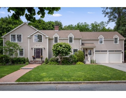 Picture 1 of 7 Canterbury Rd  Winchester Ma  4 Bedroom Single Family