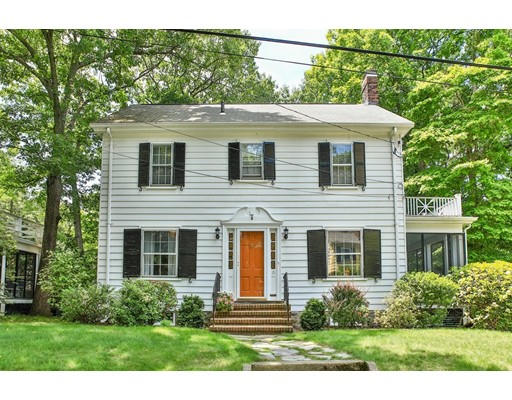 Picture 2 of 15 Wildwood Rd  Milton Ma 3 Bedroom Single Family