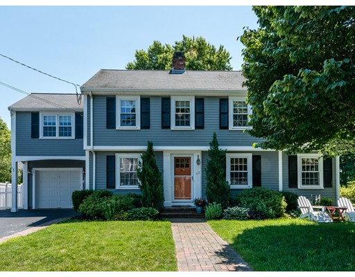 Picture 2 of 43 Whittier Rd  Needham Ma 4 Bedroom Single Family